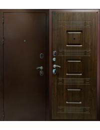 """Дверь Металлическая  """"3х контурная-орех"""" входные двери в дом"""