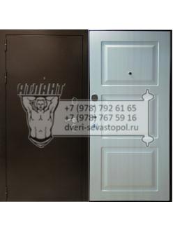 """Дверь Металлическая  """"3х контурная БЕЛЛА -ОРЕХ"""" входные двери в дом"""