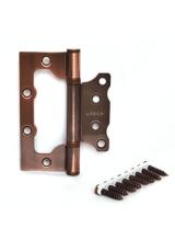 Петля накладная Apecs 100*75*2,5-B2-Steel-цвет медь