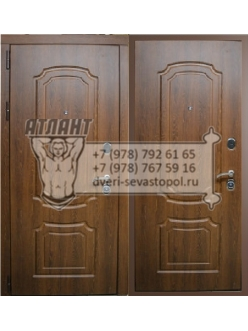 """Двери Входные  Металлические  """"ВЕНЗЕЛЬ ОРЕХ"""""""