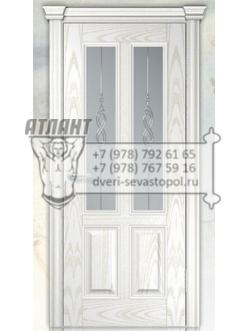 Добрый стиль Шпон Агата (ясень жемчуг) — межкомнатные двери Севастополь
