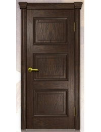 Добрый стиль Шпон Белла-3 (темный орех) — межкомнатные двери, цена