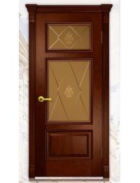Добрый стиль Шпон Вена-3 (Красное дерево) — купить межкомнатные двери из массива в Севастополе