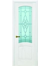 Добрый стиль Шпон Лаура (Ясень жемчуг) — двери массив межкомнатные, цена