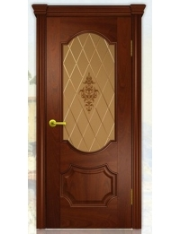 Добрый стиль Шпон Неаполь (Красное дерево) — каталог межкомнатных дверей