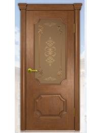 Добрый стиль Шпон Палермо (дуб коньяк) — Севастополь, недорогие межкомнатные двери