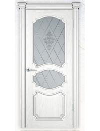 Добрый стиль Шпон Париж 2 (эмаль белая) — двери межкомнатные Крым