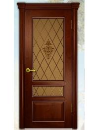 Добрый стиль Шпон Сорренто (красное дерево) — размеры межкомнатных дверей