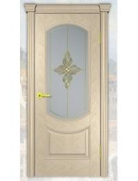 Добрый стиль Шпон Флоренция (слоновая кость) — двери межкомнатные белые