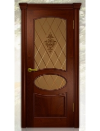 Добрый стиль Шпон Оливия (Красное дерево) — купить в Севастополе межкомнатную дверь