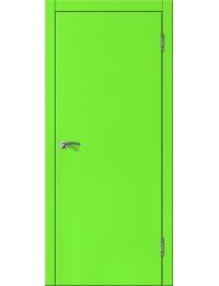 Эконом двери модель Офис  (салатовый)