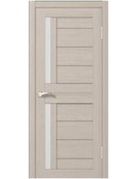 Эконом двери модель Царговая CD 1 (орех светлый)