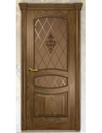 Добрый стиль Шпон Анастасия (американский орех) — Севастополь, двери межкомнатные