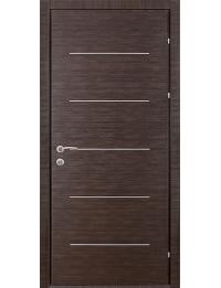 Эконом двери модель Офис  5 (венге горизонтальный)