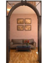 Арка Тип3 с зеркалом — арки для проемов дверей купить