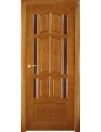 Массив модель Ампир (орех светлый) ДГБО — ширина межкомнатной двери различная