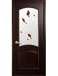 Межкомнатная дверь НС Антре  каштан
