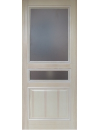 Массив модель Багет (бел/дуб) — межкомнатные двери, сайт, каталог