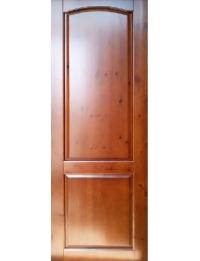 Массив модель Дачная (орех светлый)  — купить межкомнатные двери от производителя