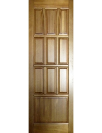 Массив модель Тюльпан (орех светлый) ПГ — купить межкомнатные двери