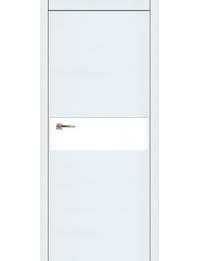 Мегаполис Г1  наношпон (сноу) — межкомнатные двери от производителя
