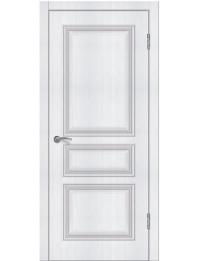 Доступные двери модель  Ницца-4 ПГ ПВХ (сосна прованс)