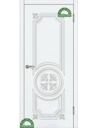 Доступные двери модель Патрисия-2 ПГ  ПВХ (ясень белый)
