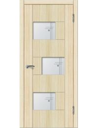 Доступные двери модель Белла ПО ПВХ (дуб беленый)