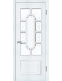 Доступные двери модель Венера ПО ПВХ (сосна прованс)