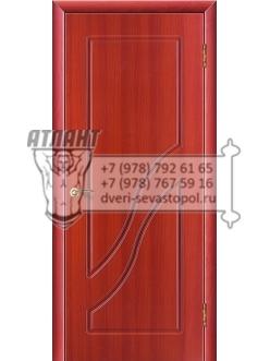 Доступные двери модель  Жасмин ПВХ ПГ (вишня)