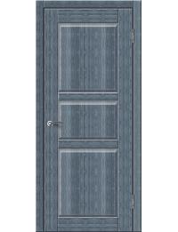 Доступные двери модель Илона-2 ПГ ПВХ (кедр сильвер)