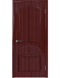 Доступные двери модель Каролина Шик ПГ ПВХ (бордо)