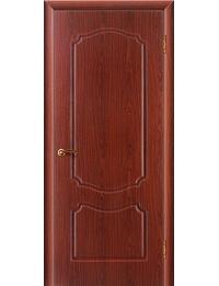 Доступные двери модель  Мария ПВХ ПГ (береза мореная)