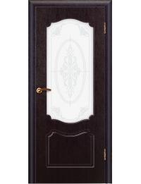 Доступные двери модель Мария ПВХ ПО (венге)