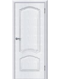 Доступные двери модель Натали шик ПГ ПВХ (ясень белый)