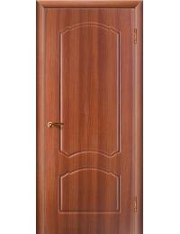 Доступные двери модель Натали ПГ ПВХ (золотистый дуб)