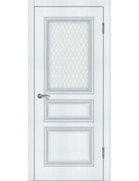 Доступные двери модель  Ницца-4 ПО ПВХ (сосна прованс)
