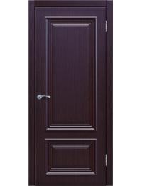Доступные двери модель Ницца-5 ПГ ПВХ (палисандр шоколад)