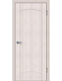Доступные двери модель Париж 3 ПГ ПВХ (кедр снежный)