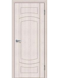 Доступные двери модель Париж 4 ПГ ПВХ (кедр снежный)