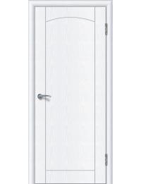 Доступные двери модель Париж ПГ ПВХ (белый ясень)