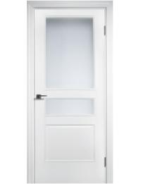 Межкомнатная дверь NEO 158 остекленная эмаль белая