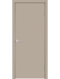 Межкомнатная дверь SCANDI 1 ЭМАЛЬ СЕРЫЙ ЛЕН ГЛУХОЕ