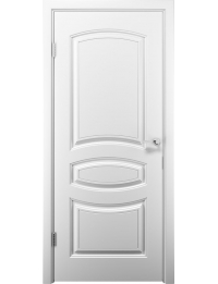 Межкомнатная дверь Аделия эмаль белая глухое