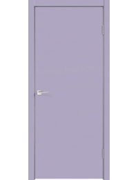 Межкомнатная дверь SCANDI 1 ЭМАЛЬ ЛАВАНДОВЫЙ ГЛУХОЕ