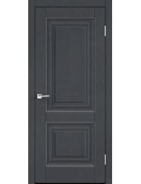 Межкомнатная дверь ALTO 7 ГЛУХОЕ ЭКОШПОН ЯСЕНЬ ГРАФИТ SOFTTOUCH