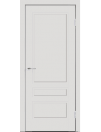 Межкомнатная дверь SCANDI 3P ЭМАЛЬ СВЕТЛО СЕРАЯ БЕЗ СТЕКЛА С ВРЕЗКОЙ ПОД ЗАМОК MORELLI 1895